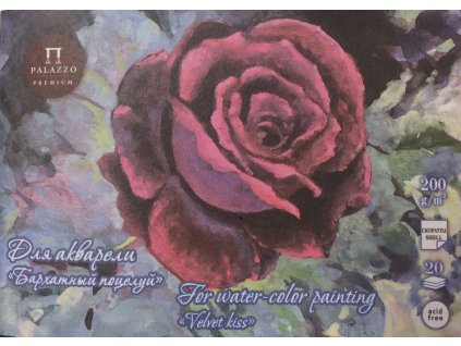 Akvarelový blok Palazzo 200g/m² Velvet kiss - 20 listů