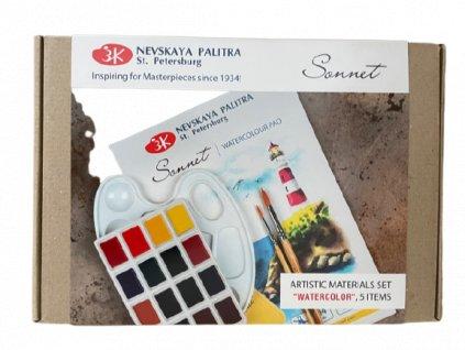 Akvarelový set SONET 5ks