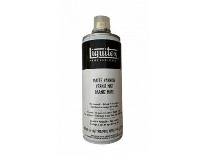 Závěrečný lak Liquitex - matný 400 ml