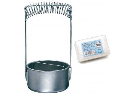 Stojánek na čištění štětců - mýdlo zn. Ami