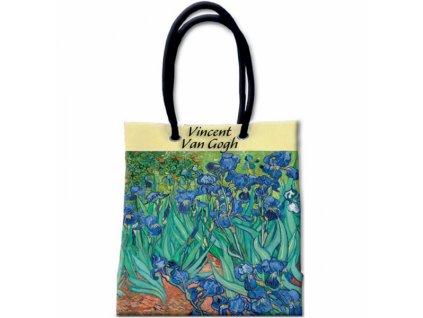 Taška s širokým dnem - van Gogh - Kosatce