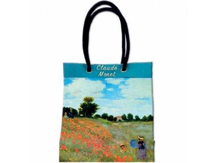 Taška s širokým dnem - Monet - Vlčí máky