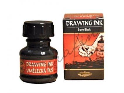 Tuš umělecká - šelaková - černá 20 g