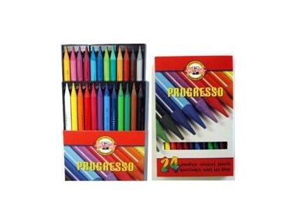 Pastelky PROGRESSO Koh-i-Noor- 24 ks