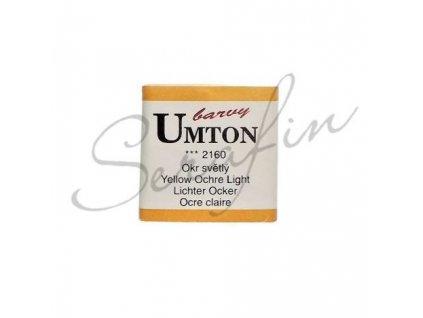 2160 - Akvarelová barva UMTON - Okr světlý