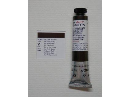Olejová barva UMTON 20 ml - van dyckova hněď 48