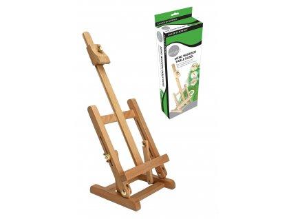 Mini stojan malířský Daler Rowney - dřevěný stolní