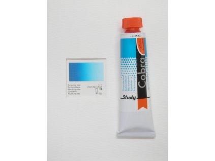 Olejová barva COBRA H2Oil 40 ml - Turquoise blue 522
