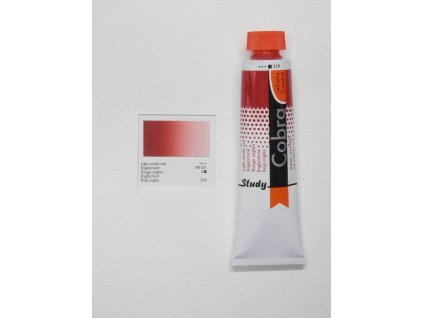 Olejová barva COBRA H2Oil 40 ml - Light oxide red 339