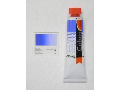 Olejová barva COBRA H2Oil 40 ml - Blue violet 548