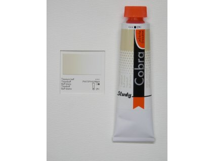 Olejová barva COBRA H2Oil 40 ml - Titanium buff 291