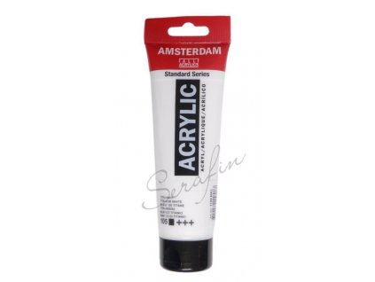bílá akryl titanium white 105