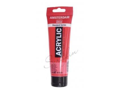 AMSTERDAM Akrylová barva 120 ml - pyrrole red 315