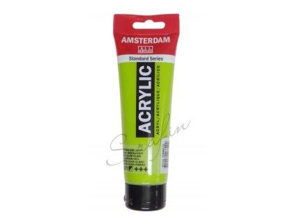AMSTERDAM Akrylová barva 120 ml - olive green light 621