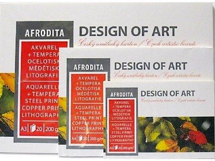 Blok Afrodita 200g/m² - A3