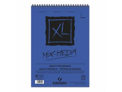 Blok XL MIX-MEDIA Canson 300g/m² - A4