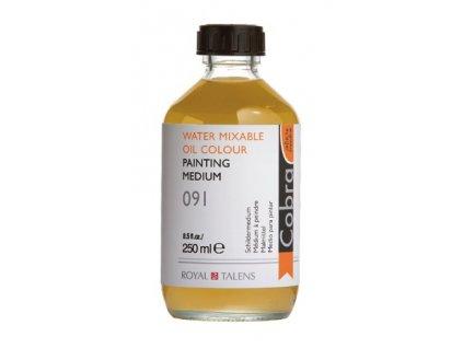 Medium painting 091 COBRA H2Oil 250 ml