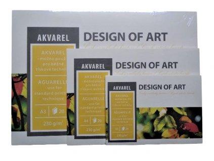 Blok Akvarel 230g/m² - A4