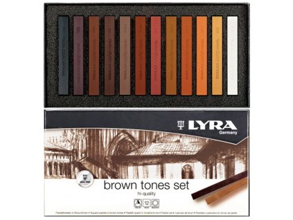 lyra brown tones set