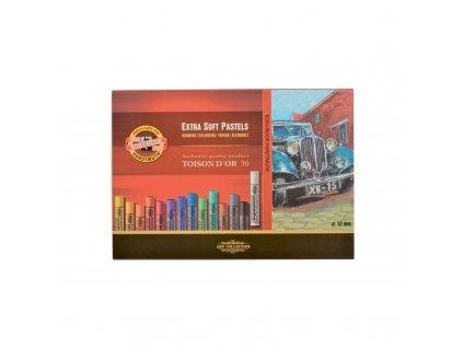 Pastel extra soft Toison D'or KOH-I-NOOR - 36 ks