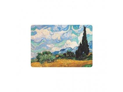 """Prostírání """"Vincent van Gogh - Pole s cypriši"""""""