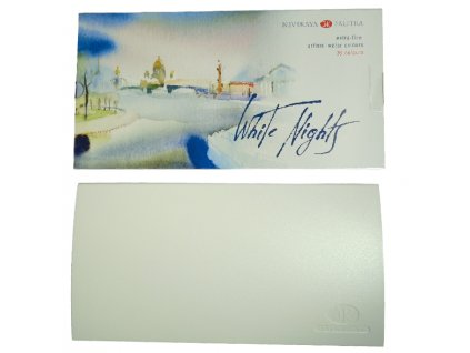Sada profesionálních akvarelových barev White nights - 36 ks