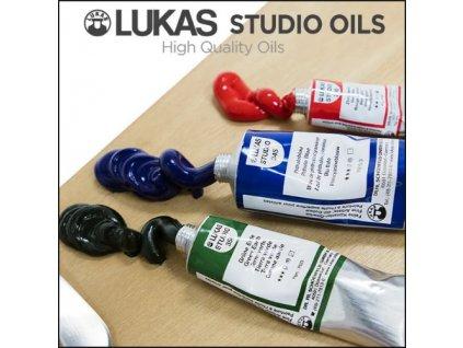 lukas olejové barvy