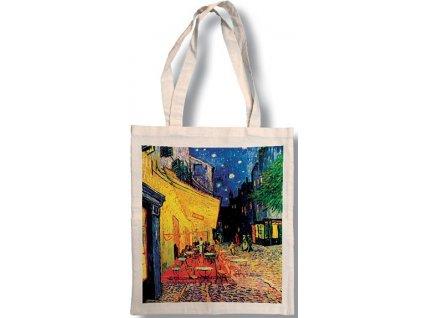 Bavlněná taška - Van Gogh - Kavárna