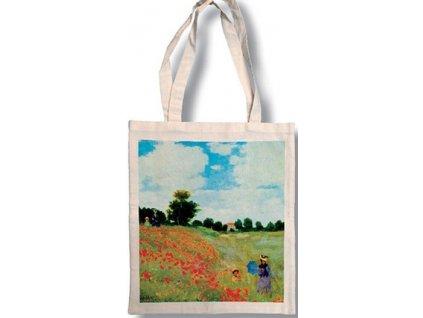 Bavlněná taška - Monet - Máky
