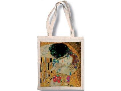 Bavlněná taška - Klimt - Polibek