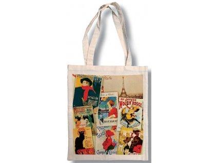 Bavlněná taška - Paris