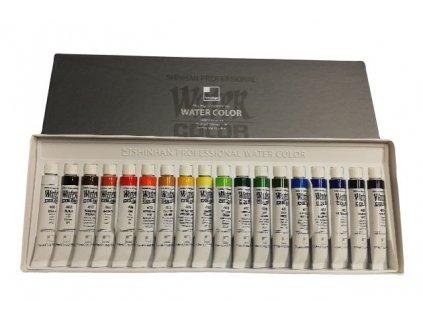 akvarelové barvy v tubě