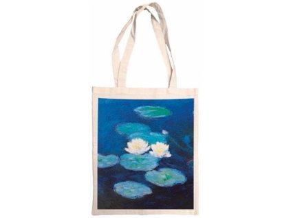 Bavlněná taška - Monet, lekníny