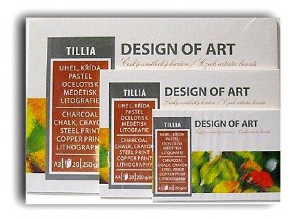 Blok TILLIA 250g/m² - A4