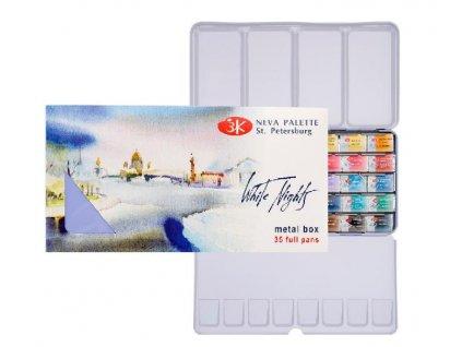 akvarelové medové barvy