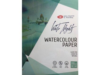 Blok pro akvarel St.Peterburg 100 % bavlny 260g - A3
