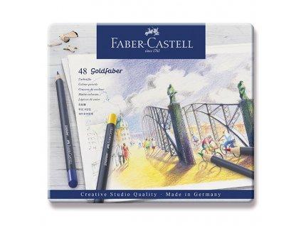 Sada uměleckých pastelek Goldfaber 48 ks - Faber Castell