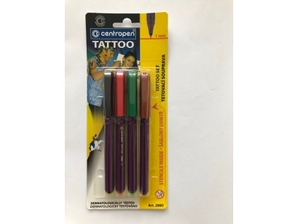tetovací fixy centropen