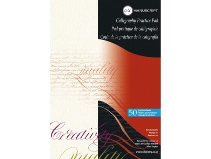 Skicák pro kaligrafii Manuscript A4 - 50 listů