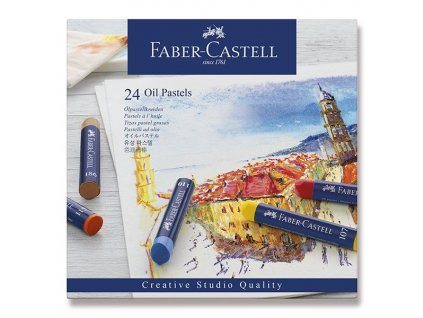 Olejové pastely Faber-Castell - 24 barev