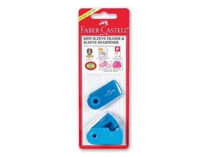 ořezávátko a pryž faber castell