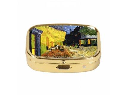 značka Fridolin - Van Gogh - Kavárna