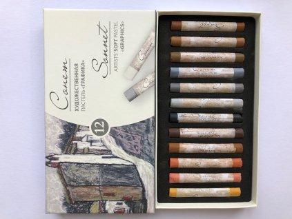 Suchý pastel Sonnet 12 ks - GRAPHICS