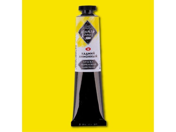 akrylové barvy Mater Class kadmium lemon 203