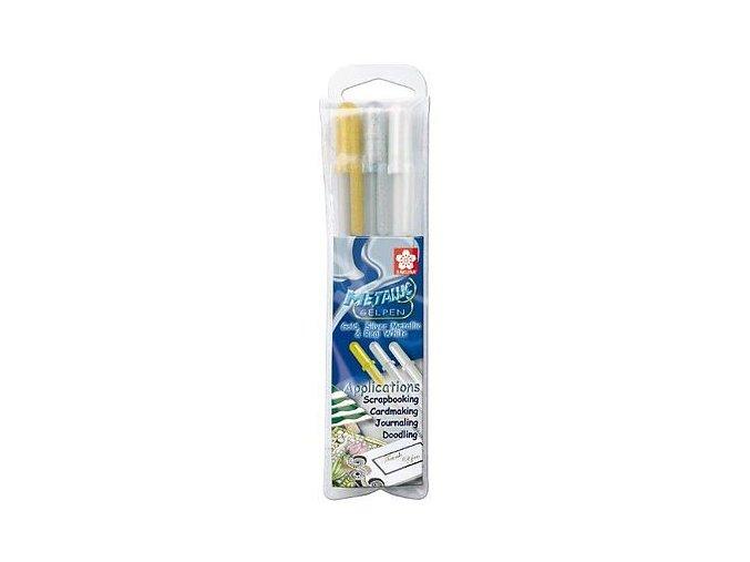 Sakura Gelly Roll Metallic Gel Pens Pack of