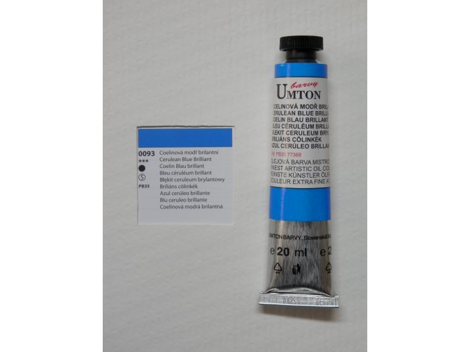 Coelinová modř brilantní