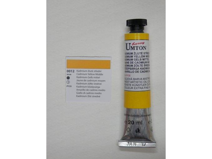 Kadmium žluté střední