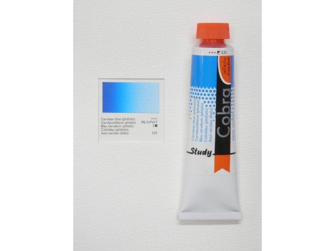 Cerulean blue (phthalo) 535