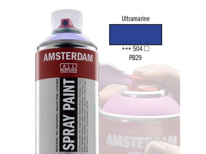 Amstr spray 504 Ultramarine