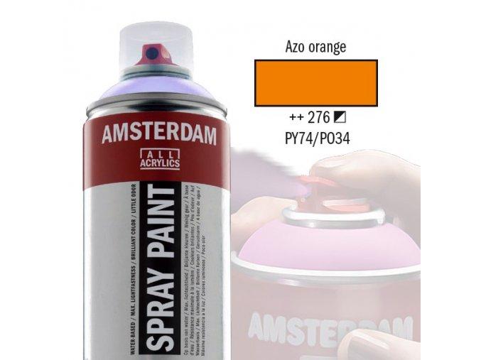 oranžový acryl